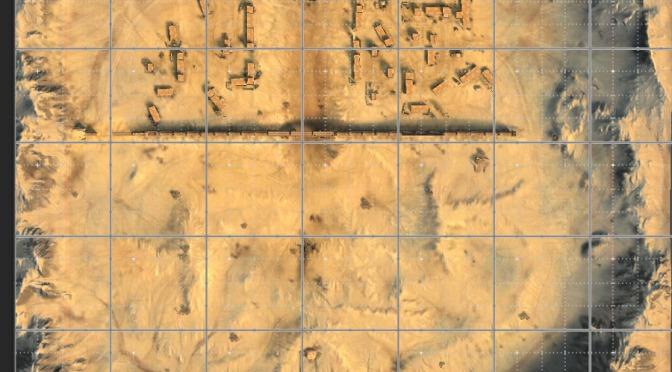 Arena del desierto o El Alamein para tanques medios
