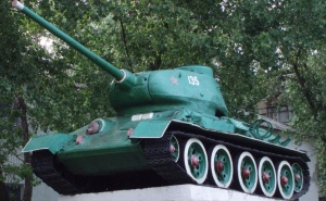 T34.85 as a monument