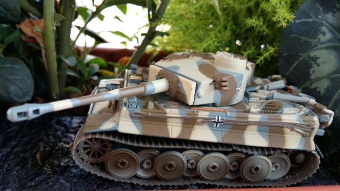 Maquetas de tanques y algo de historia: el Tiger I