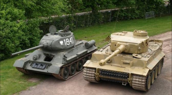 Carro de combate T-34/76 y T-34/85 ( Parte 2 )