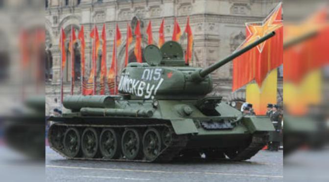 Sovietic pride: T-34