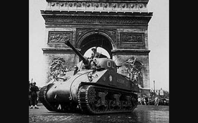 Sherman: John Wayne desembarca en Europa