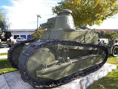 Carros de combate en la Guerra civil española (I)